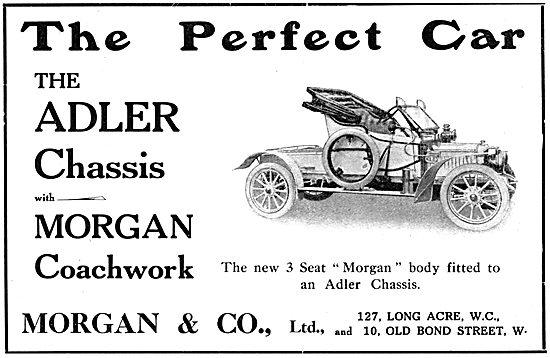 3 Seat Morgan - Adler Chassis 1912