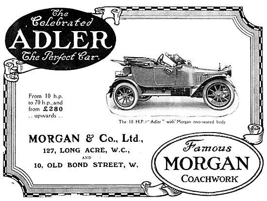 10hp Adler - Morgan Body 1912