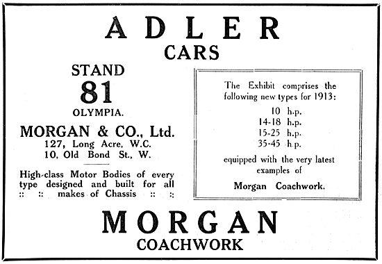 Adler Cars - Morgan Coachwork