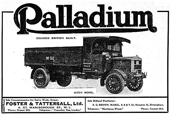 Palladium Lorries & Commercial Vehicles - Foster & Tattersall
