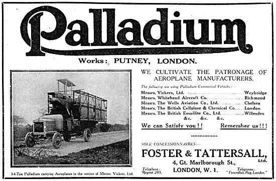 Palladium Lorries & Commercial Vehicles
