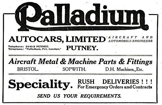 Palladium Autocars Ltd - Automobile & Aeronautical Engineers