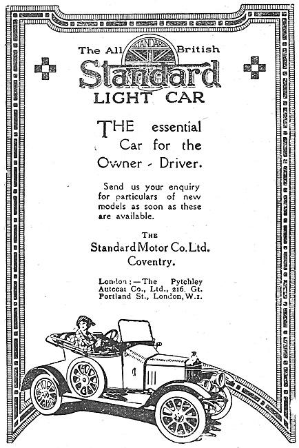 Standard Light Car 1918