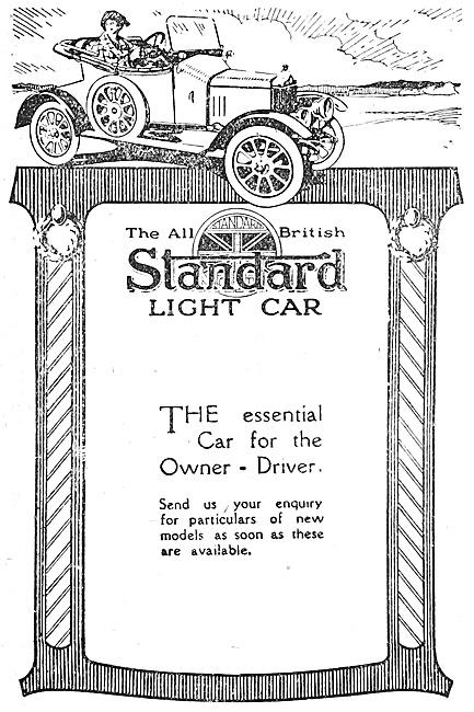 The Standard Light Car  1918