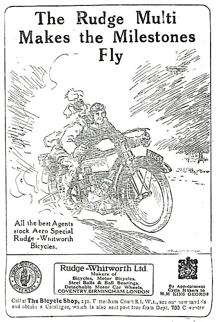 Rudge-Whitworth Motorcyles: Rudge Multi