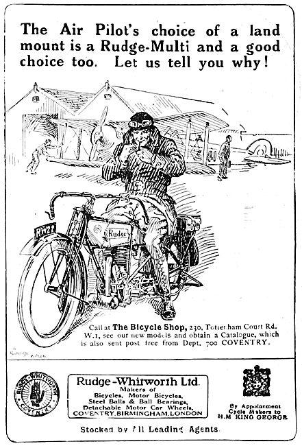 Rudge-Whitworth Motorcycles - Rudge Multi 1922