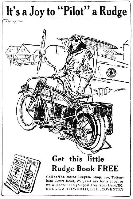 Rudge-Whitworth Motorcycles - Rudge-Multi 1922