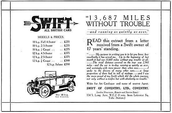 Swift Motor Cars