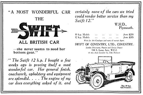 Swift Motor Cars 10HP