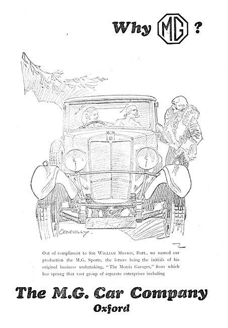 MG Cars 1929