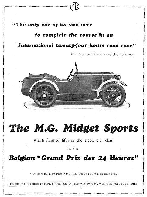 The M.G.Midget