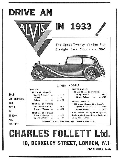 Alvis Speed-Twenty 1932