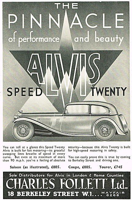 Alvis Speed Twenty Car