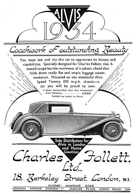 The 1934 Alvis Speed Twenty