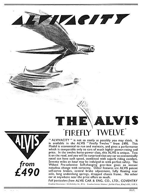 The Alvis Firefly 12 - Alvivacity