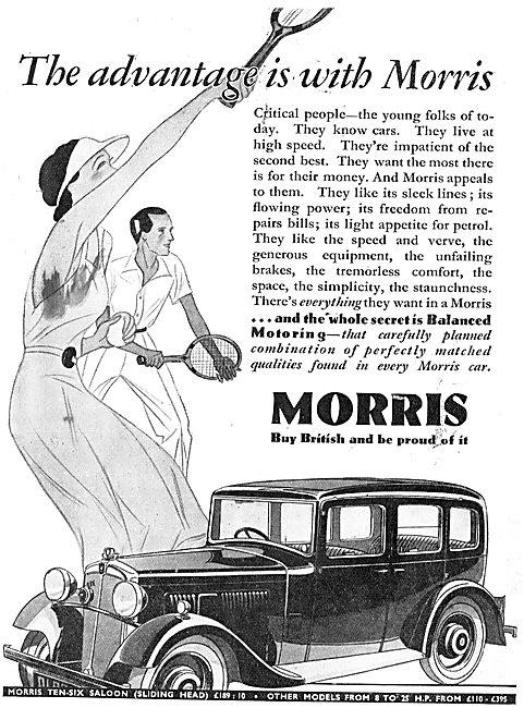 Morris Ten-Six (Sliding Head)