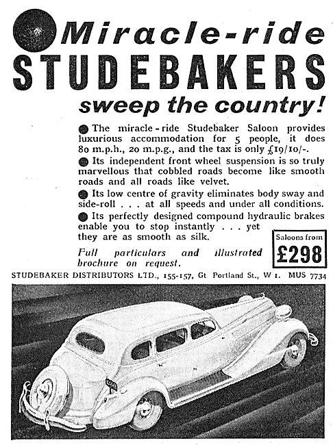 Miracle-Ride Studebaker Saloon Car - £298.00