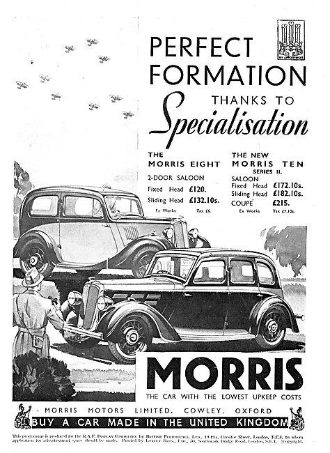 Morris Motors - 1935 Morris Eight Morris Ten Series II