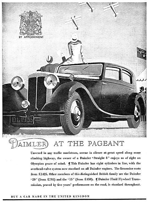 1935 Daimler Straight 8