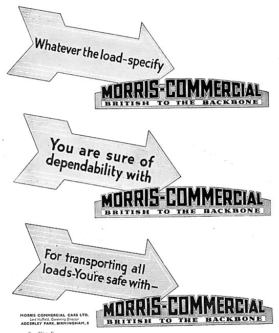 1935 Morris Commercial Vehicles