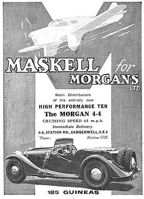 Morgan 4-4. Maskell's Camberwell
