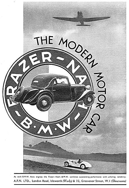 The 1936 Frazer-Nash-BMW Car