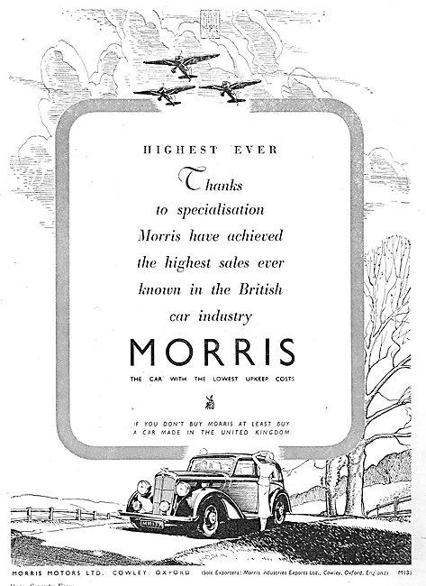 1937 Morris Motor Cars