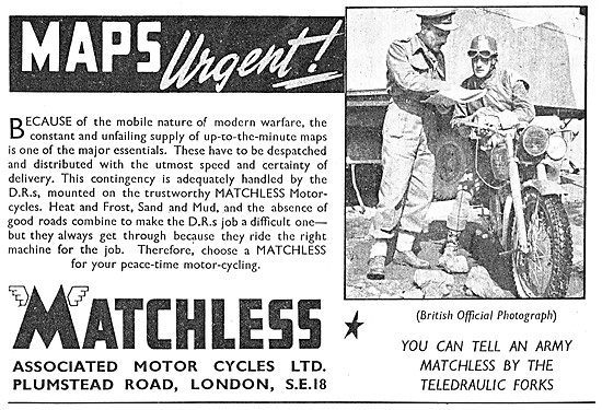 Matchless Army Motor Cycles