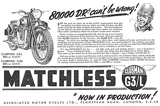 Matchless Clubman G3/L 1945