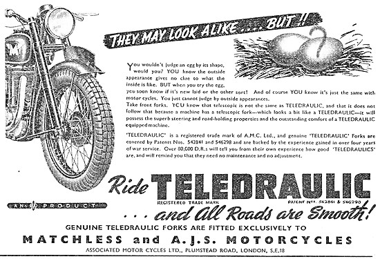 Matchless Clubman G3/L 1945 - AJS Motor Cycles