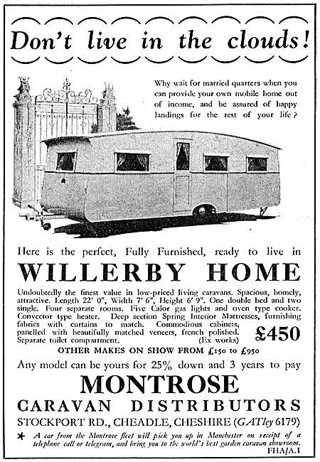 Montrose Caravan - Willerby Home Caravans For RAF Personnel