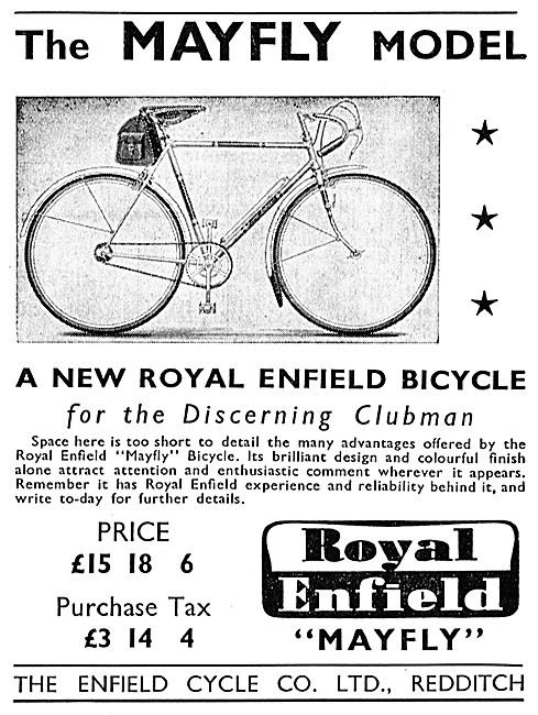 Royal Enfield Mayfly Bicycle