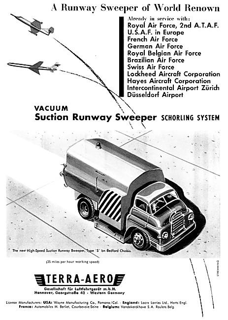 Terra-Aero Runway Sweepers