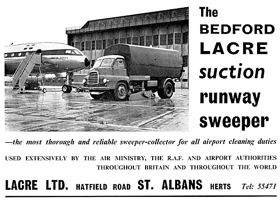 Lacre Runway Sweepers
