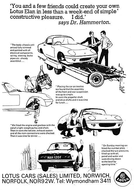 Lotus Cars - Lotus Elean 1968