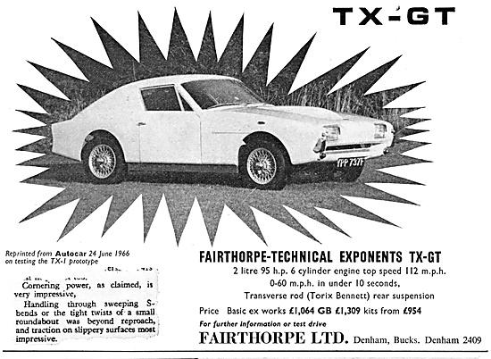 Fairthorpe  TX-1 1968