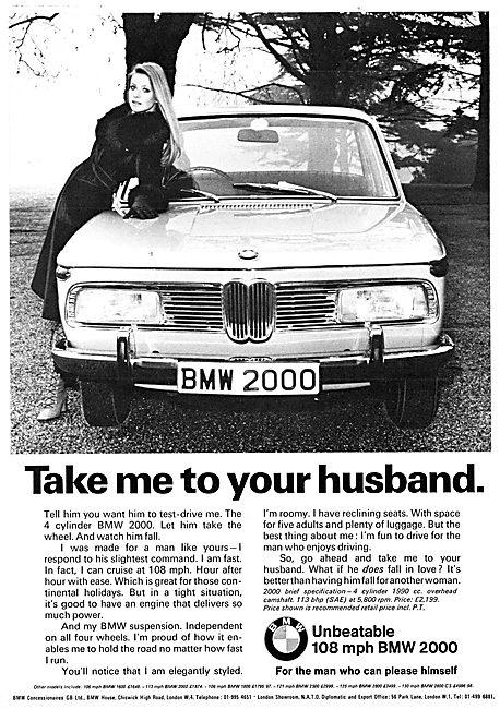 BMW 2000 Motor Car 1971