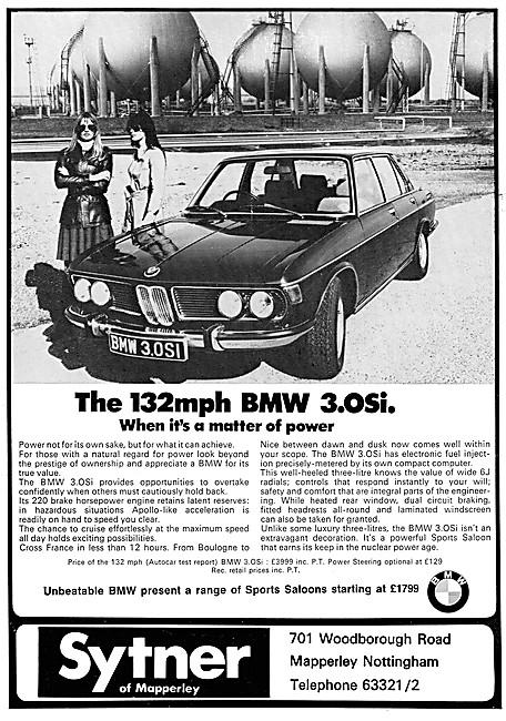 BMW 3.0Si  1972