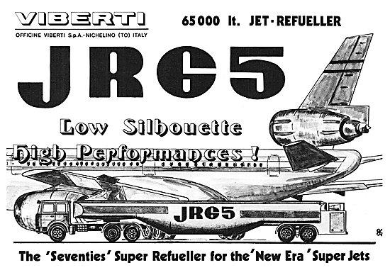 Viberti Aircraft Refueller - Viberti 656000 Litre Jet Refueller