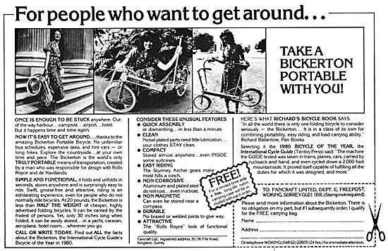 Bickerton Portable Bicycles