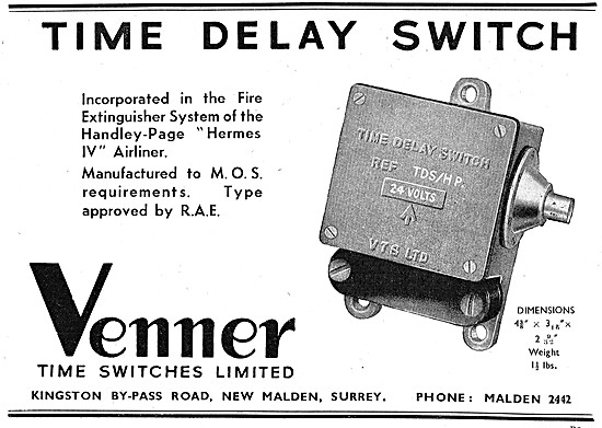 Venner Time Switches  TDS/HP 1948