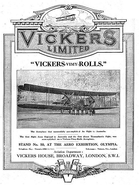 Vickers-Vimy-Rolls
