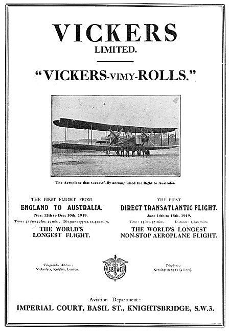 Vickers Vimy (Rolls)