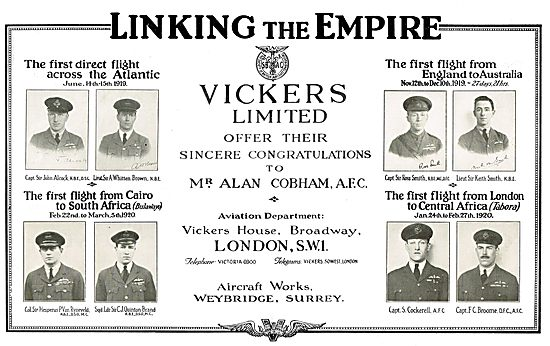 Vickers Aircraft - Linking The Empire