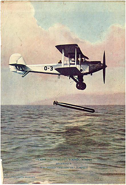 Vickers Vildebeest - Whitehead Weymouth Torpedo