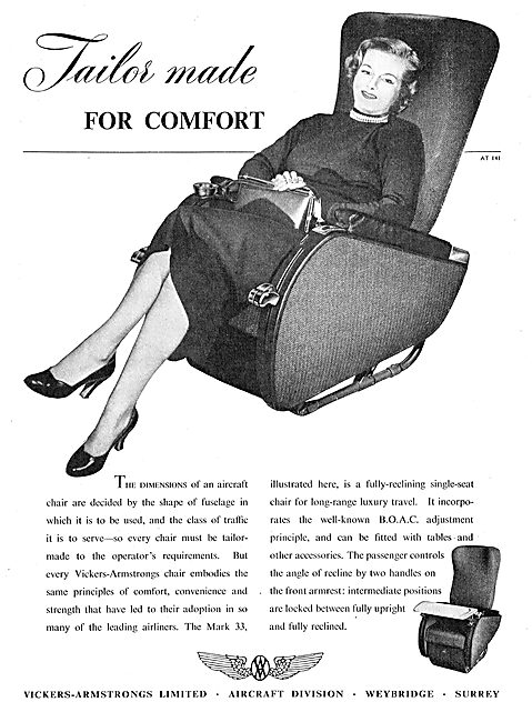 Vickers-Armstrongs Aircraft Seating