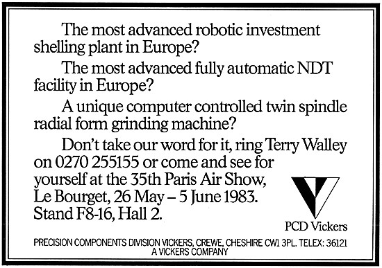 PCD Vickers, Crewe. Robotic Investment Shelling Plant