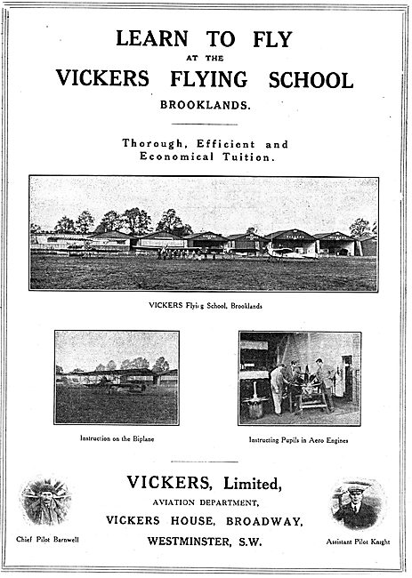 Efficient & Economical Tuition At The Vickers Flying School
