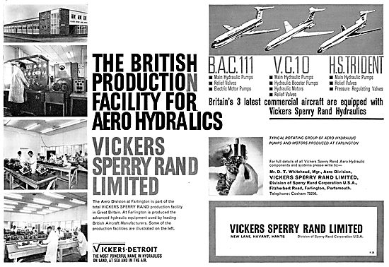 Vickers Sperry Rand - Aero Hydraulics Systems