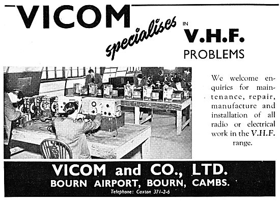 Vicom Specialists In VHF Radio - Sales, Servicing & Spares